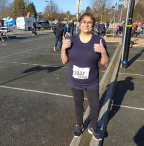 Kalpna running 5k