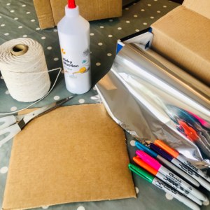Material for foil art