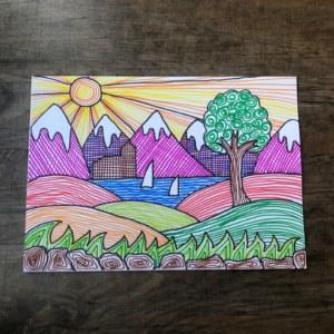 finished landscape