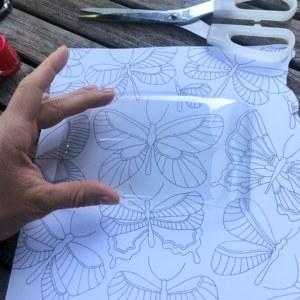 Butterfly sheet