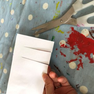 Cut 2cm strips