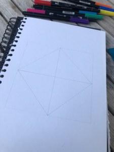 Make a diamond shape