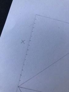 Make regular marks