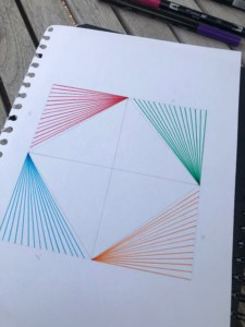 Draw all the outer lines