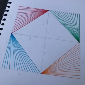 Complete the outer lines