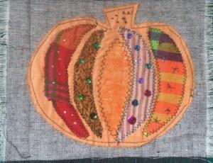 Sewing Pumpkin