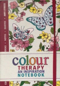 colour therapy notebook