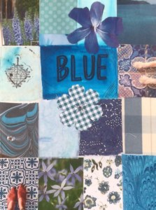 blue colour board