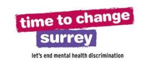 Time to Change Surrey logo